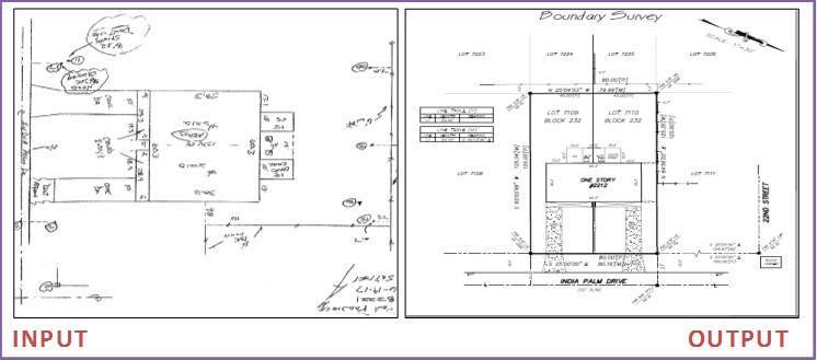 Boundary CAD Drafting