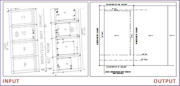 Lot Survey drafting