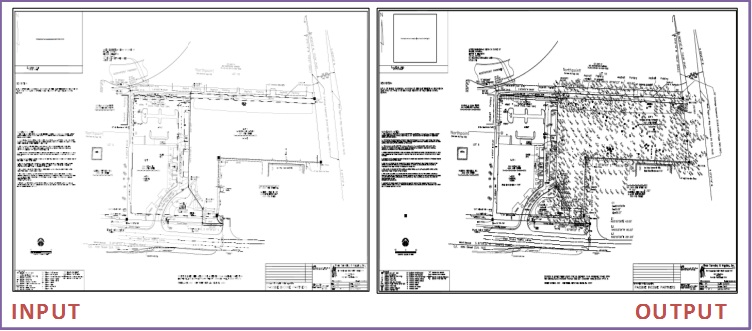 Topographic survey Drafting
